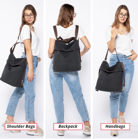 backpack women travel bag for women 2019 canvas bag pack shoulder bag female school bags ladies retro large capacity