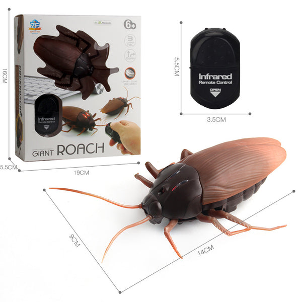 Roach/Ant/Spider Prank Toy with 360 Rotation Controller