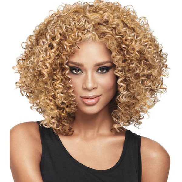 【Free Shipping+ Free  Gifts】The Hottest Simulation Wigs in 2020 & Deep Curly  Bob Wigs For Women--- Artificial Hair