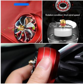 Car air freshener LED lights car air outlet aromatherapy