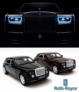 1:24 Rolls Royce Phantom Alloy Diecast Car Model