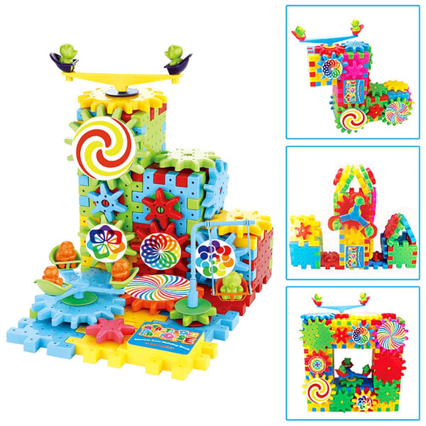 Kids Changeable Educational Dynamoelectric Building Block