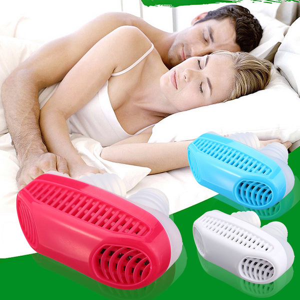【3 حزم】Soft Silicone Anti Snore Device Nasal Dilators Stop Snoring Nose Clip Air Purifier