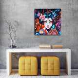 African American Canvas Bedroom Decor Wall Art Canvas Painting Graffiti Abstract Style Poster Print Painting Decoration