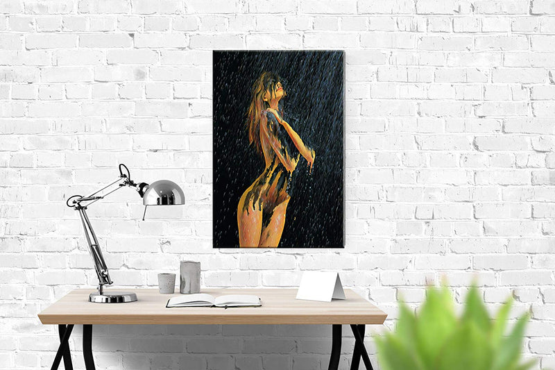 Large Sexy Nude Woman Abstract Canvas Painting Wall Art Beauty Decorative Painting