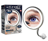 My Flexible Mirror, 10X Magnifying with Bendable Neck & LED Lighted -As Seen on TV