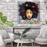 African American Canvas Bedroom Decor Wall Art Canvas Painting