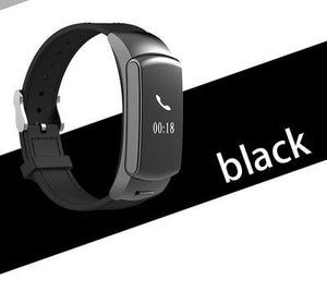X3&Y3 Plus Smart Talk Band Wristband Wristband Fitness Tracker Heart Rate Monitor Bluetooth Headset Smart Band for IOS Android