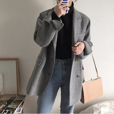 2019 South Korea spring and summer new simple wild retro clip bag temperament shoulder slung super fire small square bag handbag