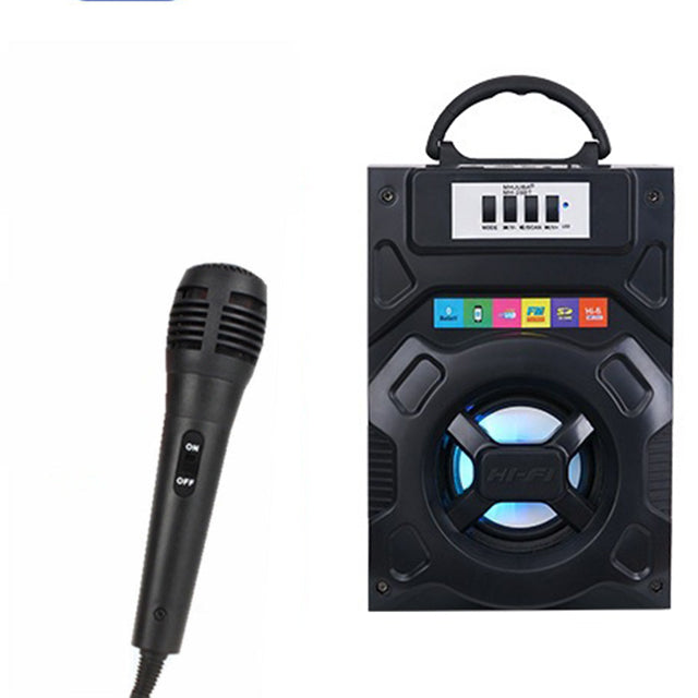 Portable Wireless Karaoke With Free Mic