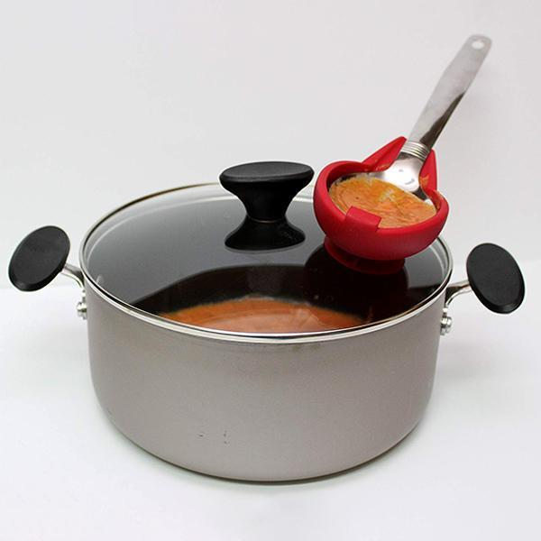 【Buy One Get One Free】Multifunctional Spoon Rests Holder Suction Cup Kitchen Utensil