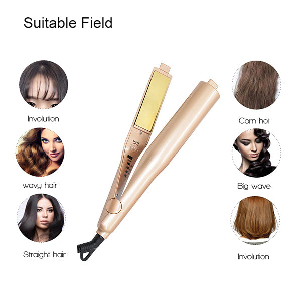 Straight/Curly Hair Machine - Create Any Style In Minutes