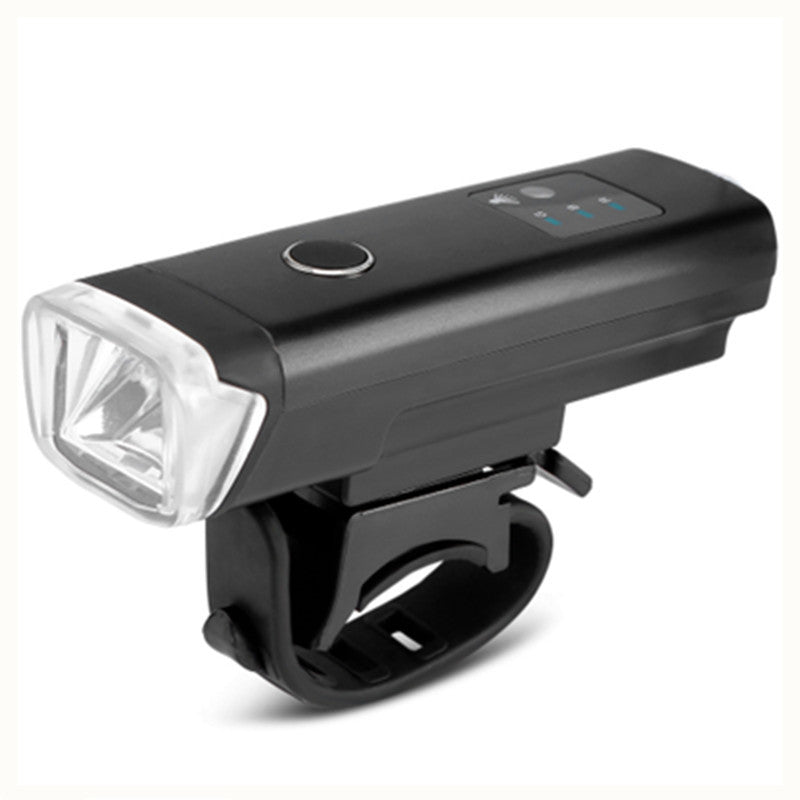 WEST BIKING Bike Front Light Induction Bicycle Bright Light USB Charging Flashlight Cycling Waterproof Torch Bike Headlight