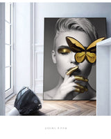 Fashion Large Size Printed Oil Painting