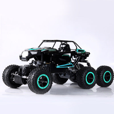 Six-drive high-speed climbing car bumper aluminum alloy remote control off-road climbing car