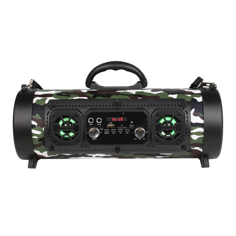 HD Sounds and Bass Bluetooth Speaker Outdoor Flashing Musician