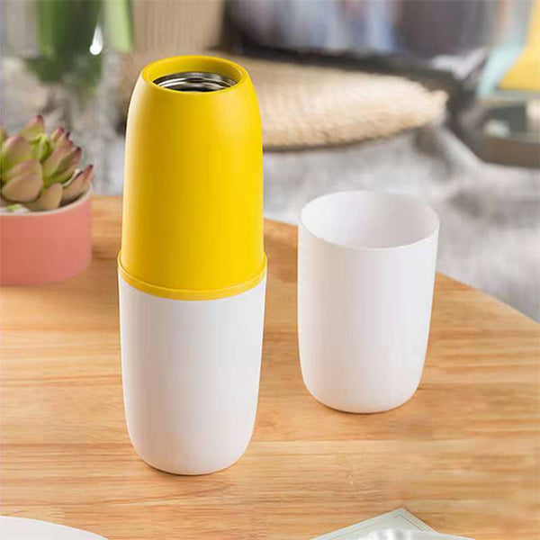 Vacuum Cup Magic Temperature Variable Speed Transfer 55 Degree Morning Travel Coffee Mug Baby Milk Cup