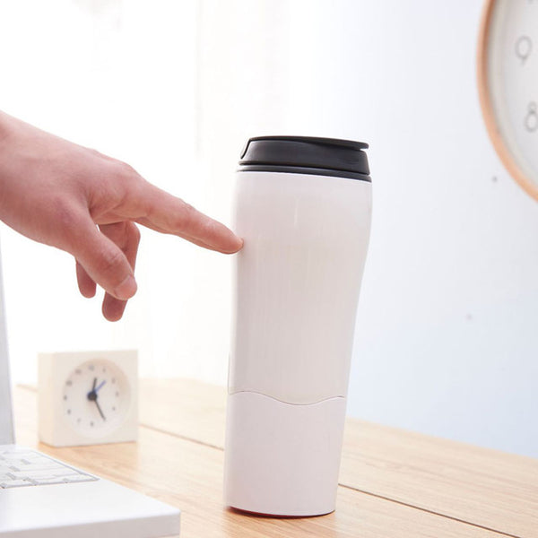 "Creative Insulated Plastic Bottle Magic ""not Fall Down"" Suction Bottle Not Pour Travel Coffee Cup Travel Mug Balance Cups"