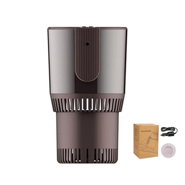 12V Smart Car Heating Cooling Cup Cooler Warmer Cup Holder Electric Smart Cup Holder [يجب أن يختار السائق]