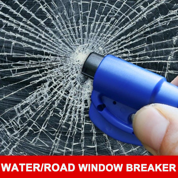 【BUY ONE GET ONE FREE】Mini safety hammer car life-saving escape hammer window keychain car Window broken emergency glass breaker