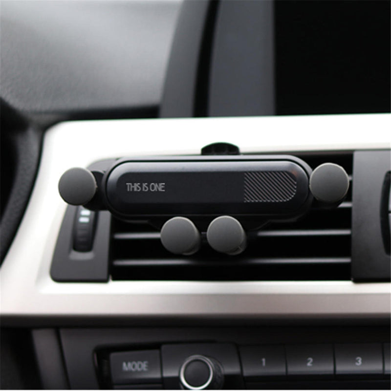 【Buy 1 Get 1 Free】Mini Car Phone Holder Air Vent Gravity Linkage Mount Bracket for iPhone/XIAOMI/HUAWEI
