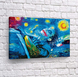 "Van Gogh Painting Starry Night Canvas Wall Art Picture  30/"" x 20/""  or 40/"" x 30/"""
