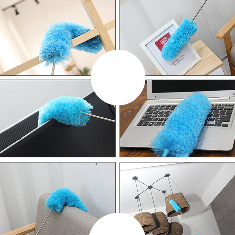 Electric Removal Dust Cleaning Brush Adjustable Microfiber Dusting Brush Extend Stretch