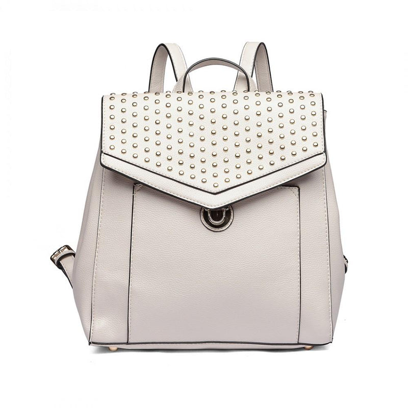 2019 TREND - Rivet Zipper Backpack