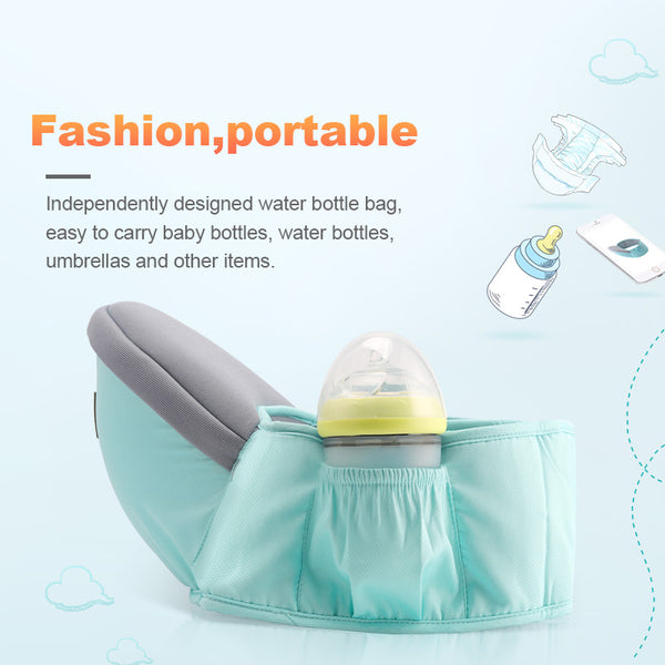Baby Carrier Waist Stool Baby Sling Hold Waist Belt Backpack Hipseat Belt Kids Adjustable