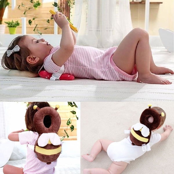 New Infant Head Protection Baby Pillow Kids Cartoon Protector Pad Toddler Baby Backpack Walking Assistant Safety Products