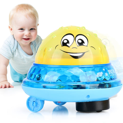 Bath Toy Spray Water Light Rotate with Shower Pool Kids Toys for Children Bathroom LED Light Toy