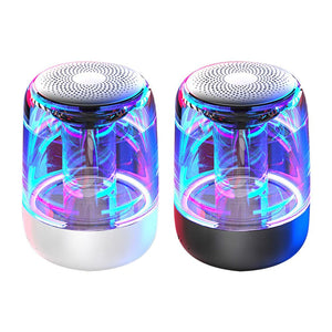 [black+white save 80SAR] Wireless Bluetooth LED light Subwoofer Outdoor C7 speaker Portable HI-FI bass