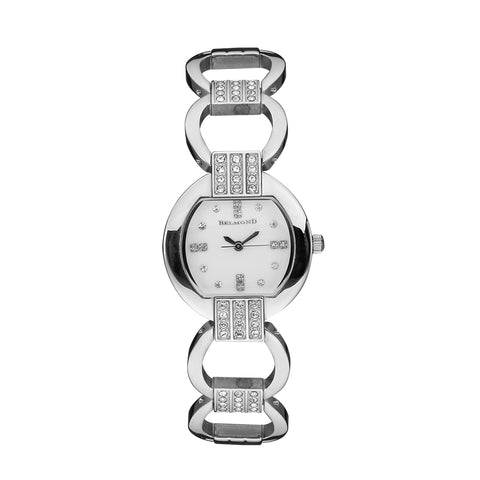 Tonneau Diamond Waterproof Hollow Bracelet Watch