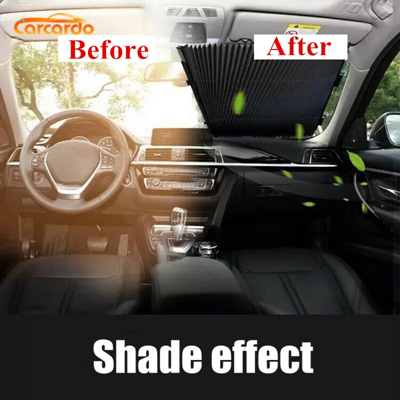 Retractable Car Sunshade Car Window Shade Windshield Sunshade Car Front Window Sunshade Car Sun Shades For Windshield