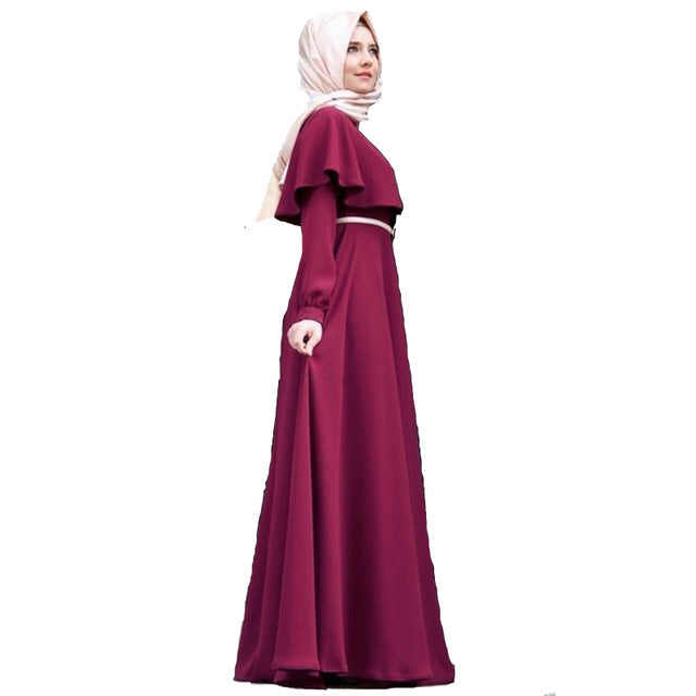 Cloak large size abaya dress abaya kimono robe orientale soiree muslim clothing women robe dubai arabe kaftan