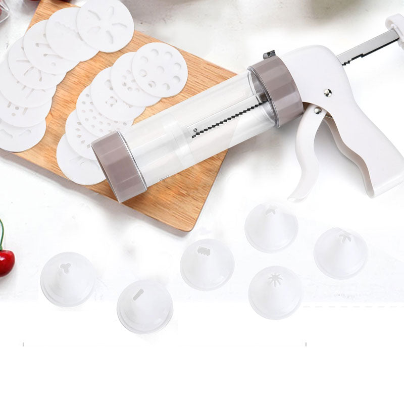 Cookie Press Kit - Cookie Press Making Gun Biscuits Cake Mold Cookie Press Maker Machine Dessert Decoration