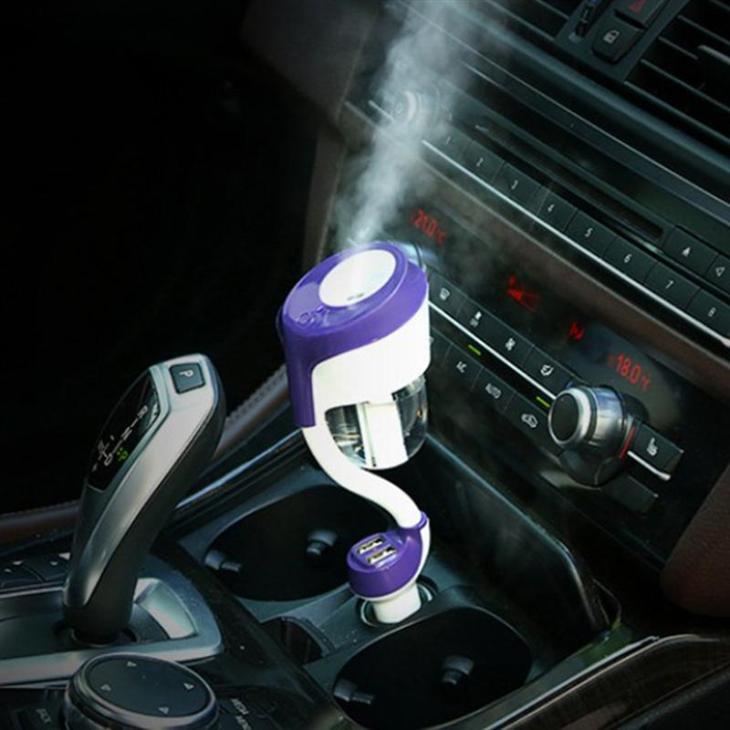 The second generation with USB charging port car air purifier steam humidifier aromatherapy essential oils aromatherapy spray