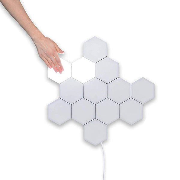 DIY Touch Sensor Modular Light honeycomb Lamp LED Night Light Magnetic Decoration Wall