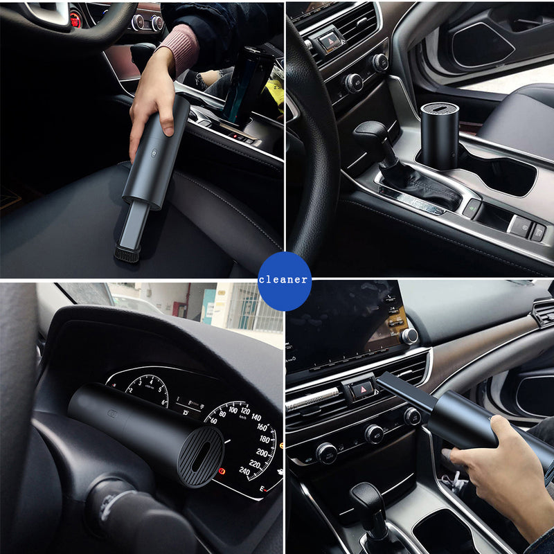 Wireless Car Vacuum Cleaner Mini Portable Handheld Vacuum Cleaner Wet Dry Dual Use Aspirator Vacuum Cleaner for Car and Home