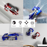New Wall Climbing Cars Remote Control RC Racing Car Anti Gravity Ceiling Rotating Stunt Electric Toys