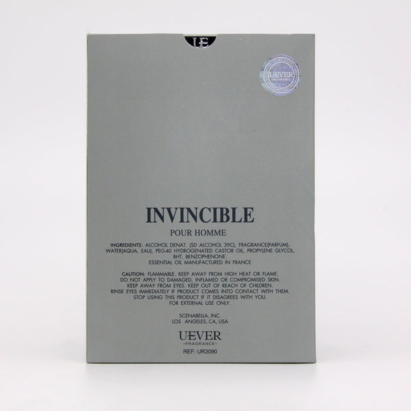 【INVINCIBLE】EDP Vaporisateur Natural Spray For Men
