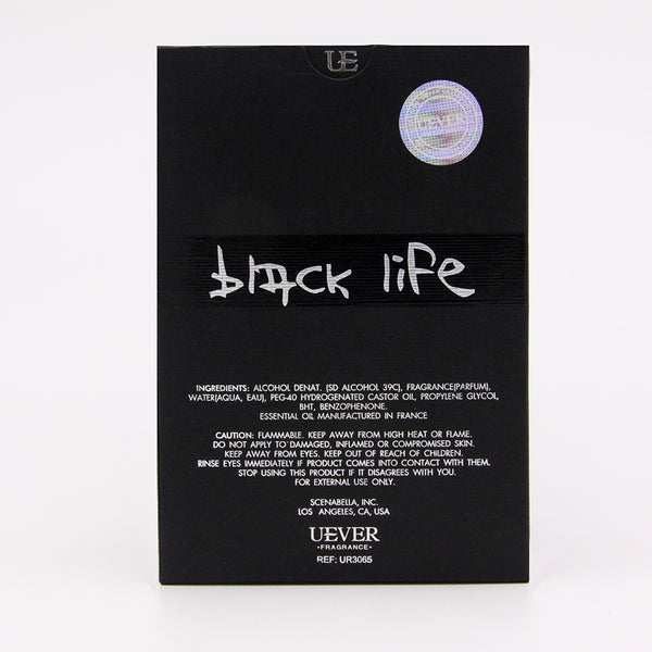 【BLACK LIFE】EDP Vaporisateur Natural Spray For Men