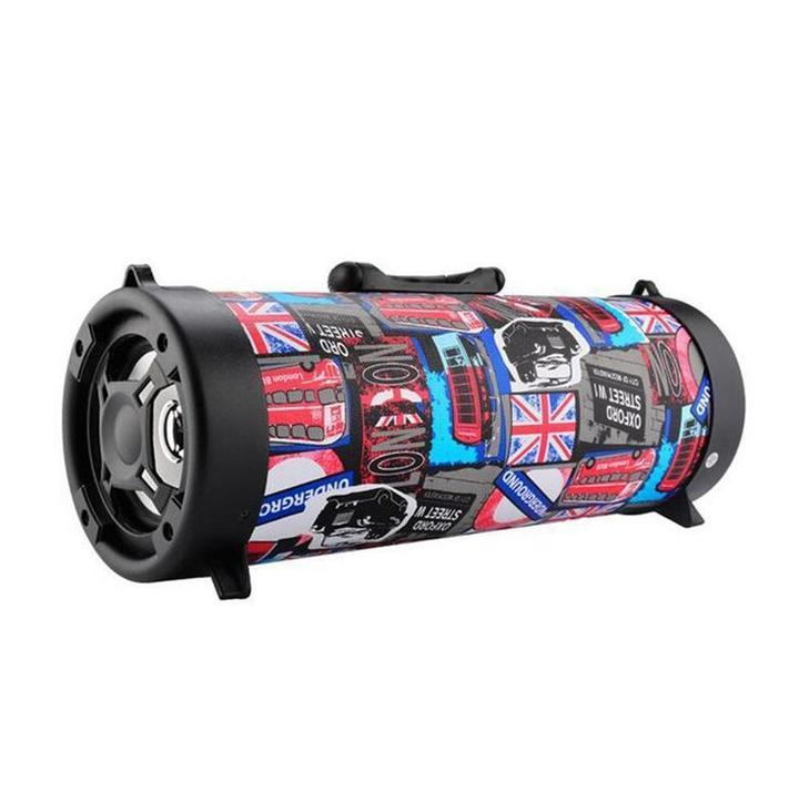 Sturdy and Durable-NEWEST BOOM BARREL BLUETOOTH SPEAKER-Perfect in Sound Quality