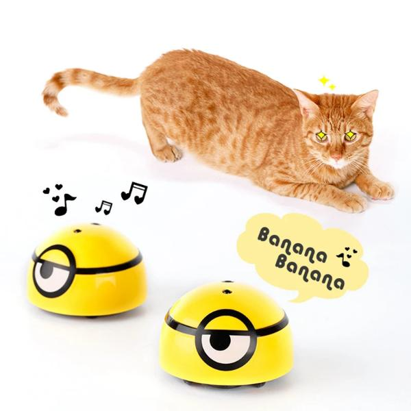Intelligent Escaping Toy Cat Dog Automatic Walk Interactive Toys For Kids Pets