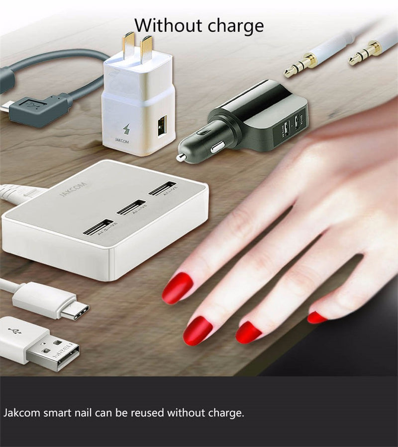 (New Arrivals)Smart Nail New Multifunction Product Of Intelligent Accessories No Charge Required New NFC Smart Wearable Gadget