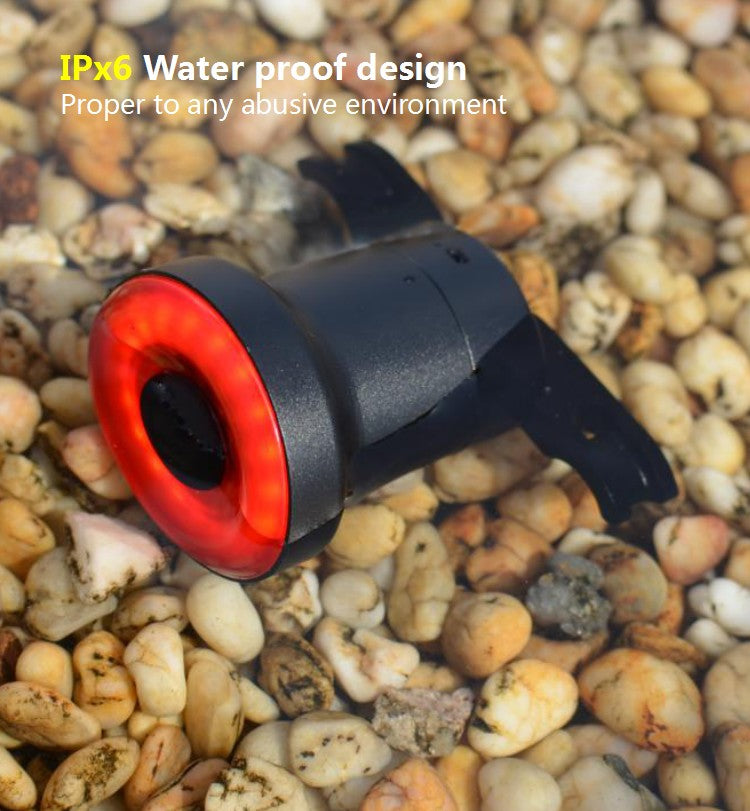 Bicycle Taillights Intelligent Sensor Turn Signal Brake lights USB xlite100 Road MTB Bike Saddle Rear Rechargeable Smart Light