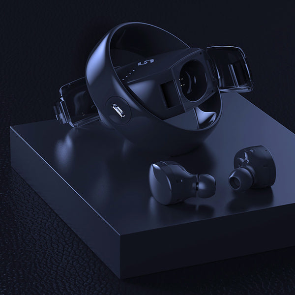 New arrival  Creative 360 Degree Rotating TWS5.0 Bilateral  TS02 Wireless Bluetooth Headset