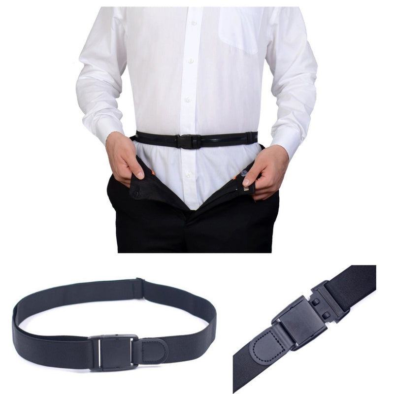 【Buy One Get One Free】Close To Shirt-stay Fit Braces Shirt Adjustable Suspenders Stays Tuck Belt Shirt Hidden Shirt Holder Men Stay Belt Men Women