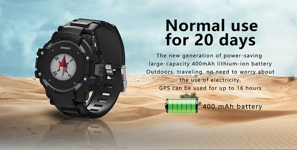NO.1 F7 GPS Smart watch Wearable Devices Activity Tracker Bluetooth 4.2 Altimeter Barometer Compass GPS outdoors watch
