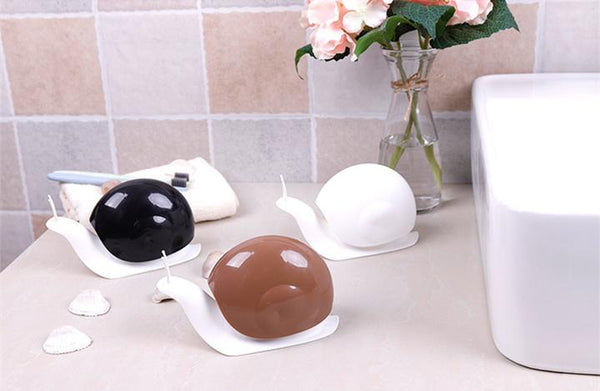 Creative snail soap dispenser